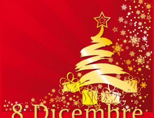 PRANZO con animazione bimbi – Festa dell'Immacolata – Venerdì 8 dicembre