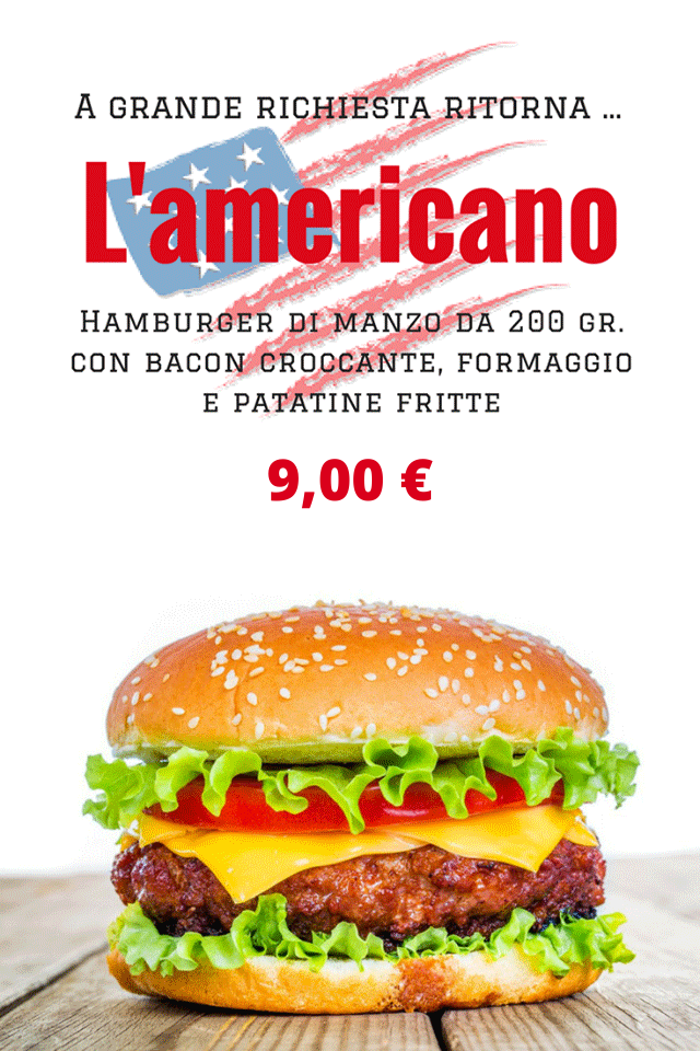 HAMBURGHER AMERICANO