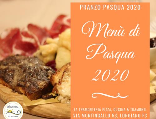 Menù di PASQUA– pranzo del 12/04/2020